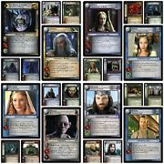 Lord Of The Rings Tcg Decipher Cards Mount Doom Shadows Black Rider Bloodlines
