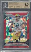Aaron Rodgers 2016 Panini Prizm Red Crystals Prizms D 8/75 Bgs 9.5 Gem Pop 1/1