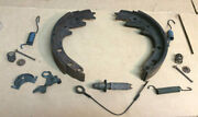 1964 1965 1966 And Other Mustang Lh 6 Cyl. 4 Lug Rear Brake Shoes And Springs