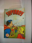Rare Issue 31 Of An Early Australian Superboy Comic