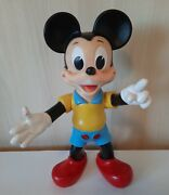 Vintage Ledra Italy Walt Disney Productions Mickey Mouse Large Rubber Toy Rare