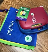Leapfrog Leap Pad Learning System W/ 21 Books And Cartridges Prek-3rd Grade