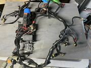 Evinrude Etec 90 Degree Engine Harness Assy 0586769 With Trim Relay