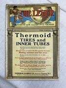 Vtg.the Lever A Magazine For Automobile Owners July 1910 Rare Copy