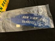 Rare Rare Rare Vintage Baseball New York Yankees Worlds Series Feather 1930and039s