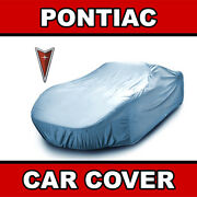 Pontiac [outdoor] Car Cover ☑️ All Weather ☑️ Waterproof ☑️ Warranty ✔custom✔fit