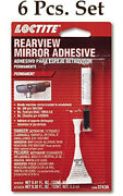 6 Piece Set Of Loctite - 487865 - Rearview Mirror Adhesive Kit - New - 37438