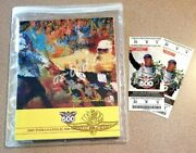 2005 Indy 500 May 29, 2005 Collector Program + Tickets Danica Patrick Rookie