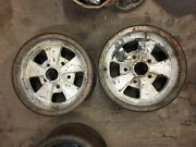 Set Of 3 Cragar Gt Mags 14 X 6 5 Bolt Pattern 14 X 6 Used As Is