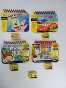 Leapfrog My First Leappad Books And Cartridges Preschool Learning Lot Cd14