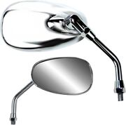 Parts Unlimited Classic American-style Mirrors Standard Universal 0640-0945