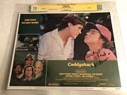 Cgc 10 Ss Caddyshack 1980 Lobby Card 3 Signed By Michael O'keefe 11x14 Not 9.8