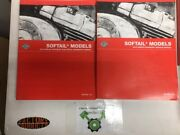 Harley Davidson Softail Service And Electrical Manuals 99482-10 99498-10