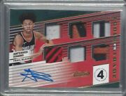 Anfernee Simons 2018-19 Absolute Tools Of The Trade 6 Piece Patch Auto Rc D 4/5