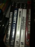 Ps3 Brothers In Arms Alpha Protocol Call Of Duty Mw3 Ghosts Black Ops