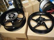Genuine Yamaha Yec Yzf-r6 2017-2020 Set Of Front And Rear Motorcycle Wheels