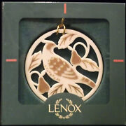 Discontinued Complete Set Of Lenox 12 Days Of Christmas Ornament Mint In Boxes