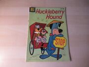 Huckleberry Hound 3 1 Dell Silver Age Higher To High Grade Nice Looking Book