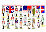 Marx Awi Sets 60mm Unpainted Plastic Figures British Redcoats And Americans