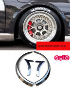 For Porsche 997 Gt3 Rs Style Carbon Front Wheel Arch Flares Wide Body Kit