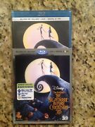 The Nightmare Before Christmas 3dblu-ray/dvd,2011,3-disc,digitalnew Authentic
