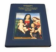 Sotheby's Walter P. Chrysler, Jr. Old Master And 19th Century Paintings