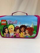 Lego Friends Lot Heartlake Place Zipbin Carry Case W/ 41004 And 3939 Free Ship