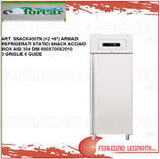 Cabinet Chilled Gn2/1 Static Snack Stainless Steel 2+ 8anddeg Forcar Snack400tn