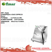 Pizza Roller To 2 Couples Of 037kw 05 Hp 590x510x775/895h Mm Fimar Fi42n