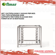 Support For Oven Stainless Steel + Kit Of Mounting For Mod.top Fimar Cavtop64