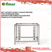 Support For Oven Stainless Steel + Kit Of Mounting For Mod.top10 Fimar Cavtop10
