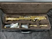 New Chateau Css-80l Series Pro Soprano Sax With High G
