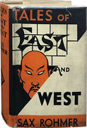 Sax Rohmer / Tales Of East And West First Edition 1932