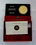 2005 Canada 300 Dollars Gold Coin Totem Pole Proof Km 600