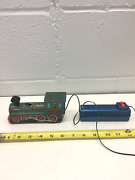 Antique Vintage Marx Tin Western Train Engine Battery Operated With Untested