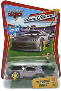 Disney Cars 1 2 3 Diecast 155 - Impound Boost Without Confetti 75 - Chase Uk