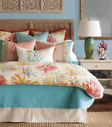 Eastern Accents Andros Coverlet New Super Queen Ret 500 Matelassé - Stunning
