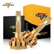 Auxbeam F-16 Plus H1 Led Headlight Bulbs 70w 7000lm 6000k White Lamp With Canbus
