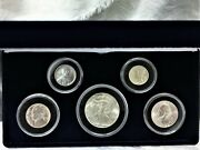United States Rare 5 Coin Set From World War 2.. Gem Unc Will Grade Ms68