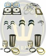 Cylinder Liner Kit Overhaul For Volvo Penta Md11 Ro 875549 876376