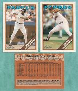 1988 O-pee-chee San Diego Padres Team Set 14 - Mint From Vend Case