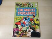 The Mighty Crusaders 1 Origin Of The Shield Silver Age Comic Higher Grade