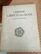 1924 Chinese Carpets And Rugs, By Adolf Hackmack Classic Book Illustr. 63 Pict.