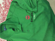 Bacardi Green Lime  Golf Polo Shirt Men's Adult Large New