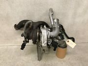 12-16 Volkswagen Eos Turbo Charge Turbocharge With Manifold And Lines Lot402