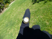 Vintage 18k Solid Gold Ring Size7 Bucherer Mechanical 17 Jewels Swiss Made Watch