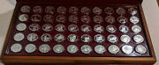 Franklin Mint States Of The Union Sterling Governorand039s Edition Set