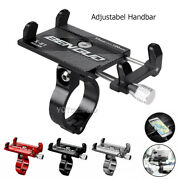 Usa Aluminum Motorcycle Bike Bicycle Holder Mount Handlebar For Cell Phone Gps