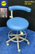 Adec 1622 Assistant Dental Stool - Color Of Choice Vinyl Upholstery