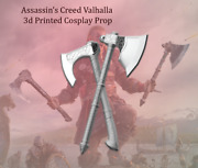 Assassinand039s Creed Valhalla Viking Axes Cosplay Prop